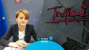 Jadwiga Emilewicz gościem programu 'Studio Biznes'