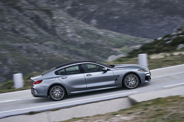 BMW serii 8 Gran Coupe oficjalnie. Imponujący debiut