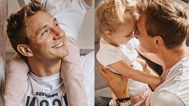 Jakub Rzeźniczak z córką