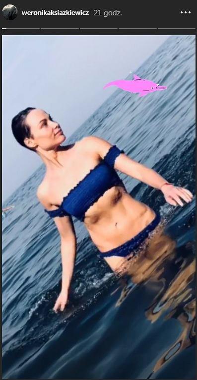 Weronika Książkiewicz pokazała się w bikini