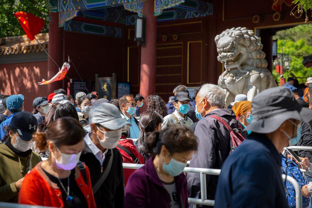 W majówkę miliony Chińczyków ruszyły w podróż