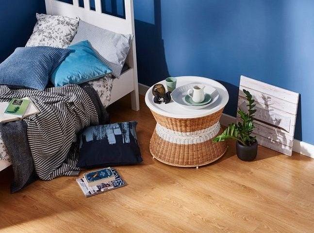 Panele podłogowe w sypialni