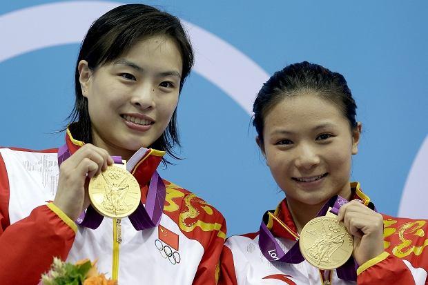 Od lewej: Wu Minxia i He Zi