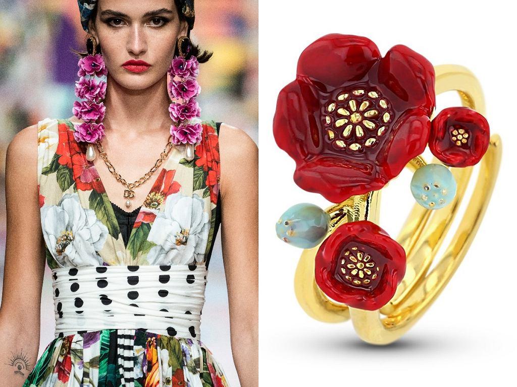 Dolce&Gabbana SS2021/ Pierścionek Luxury Charms By Di Giorgio