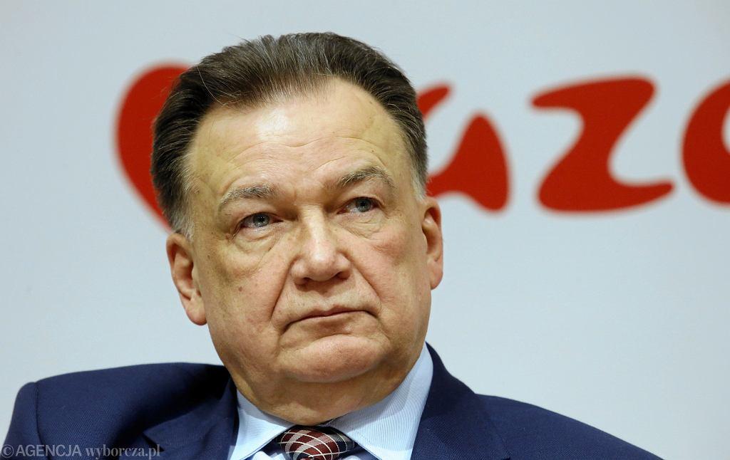 Wybory samorządowe 2018. Adam Struzik, marszałek Mazowsza, może nie utrzymać swojego urzędu, jeśli w wyborach do sejmiku wygra PiS