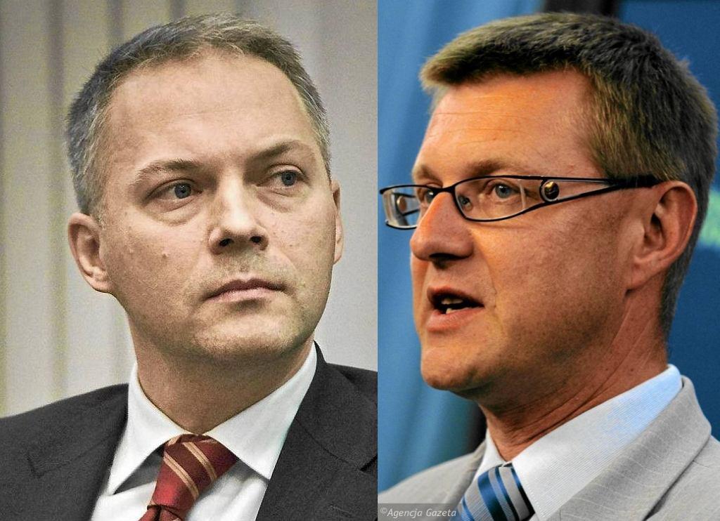 Jacek Żalek i Artur Dunin (obaj PO)