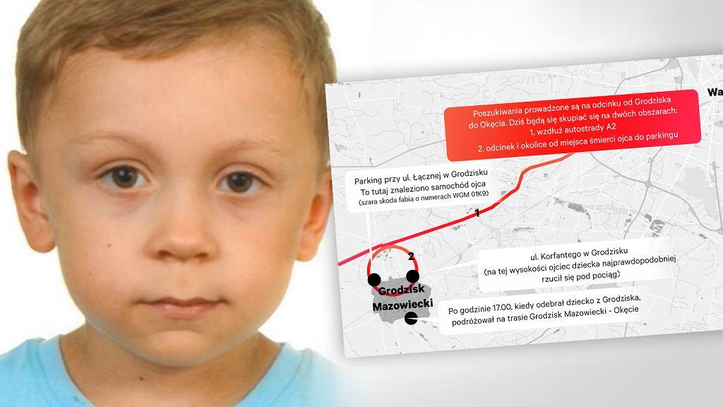 Zaginął 5-letni Dawid Żukowski