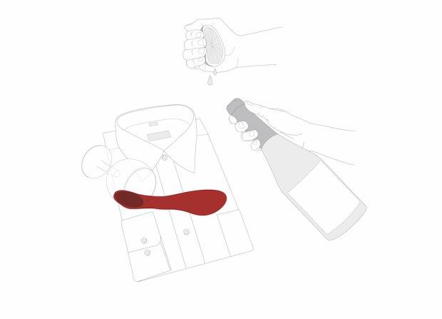 Jak pozbyć się plam z wina, tłuszczu, krwi i szminki na koszuli?