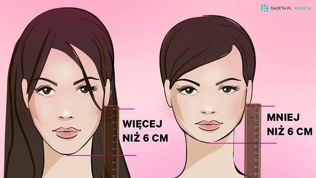 Jeśli odległość między twoim uchem a brodą jest mniejsza niż 6 cm, krótkie fryzury są dla ciebie. tak twierdzi John Frieda, fryzjer gwiazd