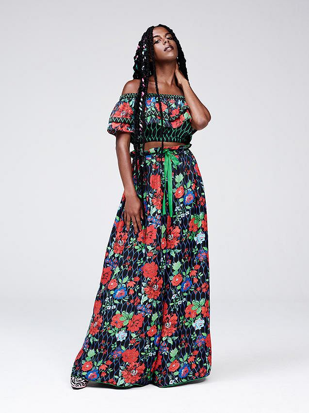 Kenzo dla H&M: lookbook kolekcji damskiej
