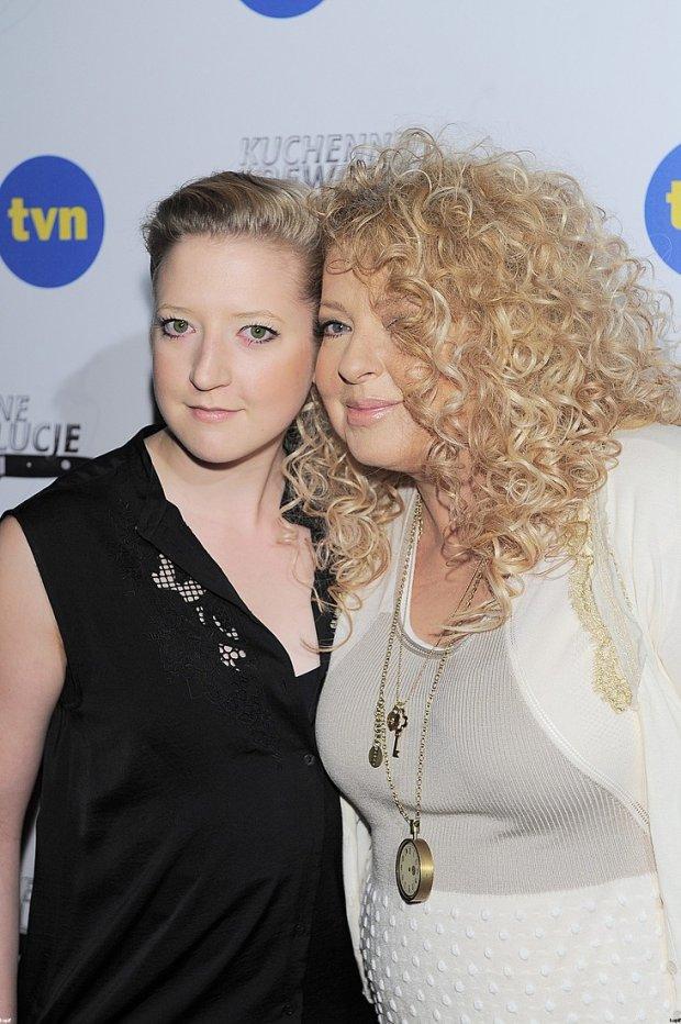 Magda Gessler z córką Larą