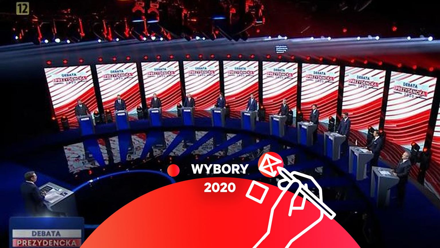 Wybory 2020. Debata prezydencka w telewizji publicznej sprzeczna z rozporządzeniem KRRiT? TVP odpowiada