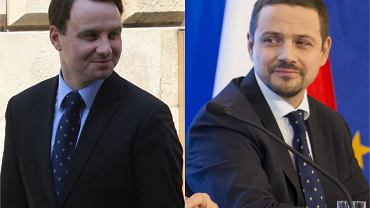 Andrzej Duda i Rafał Trzaskowski w polityce obecni są od lat. Prezydent Polski miał fryzurę na Marka Mostowiaka. Mocno się zmienili