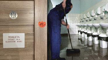 Wysokie ceny za skorzystanie z toalety nad Bałtykiem