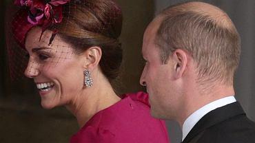 Księżna Kate i książę William na ślubie księżnej Eugenii
