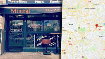 Restauracja z fast foodem, w której doszło do zabójstwa