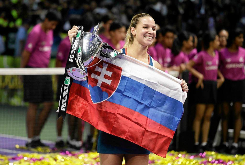 Dominika Cibulkova wygrała WTA Finals