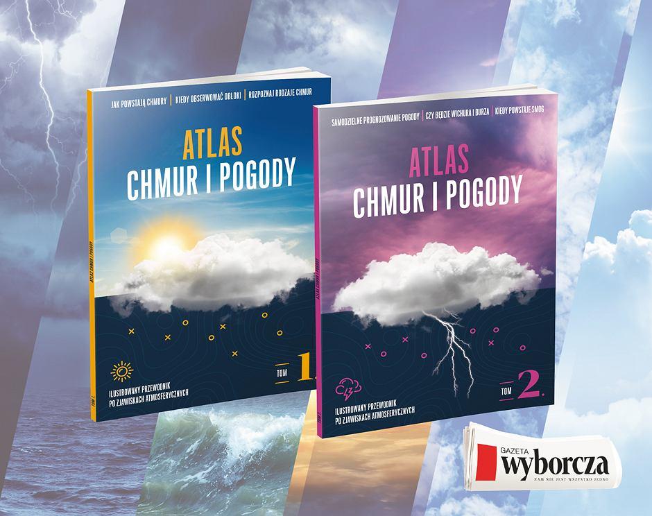 Atlas chmur i pogody - okładki.