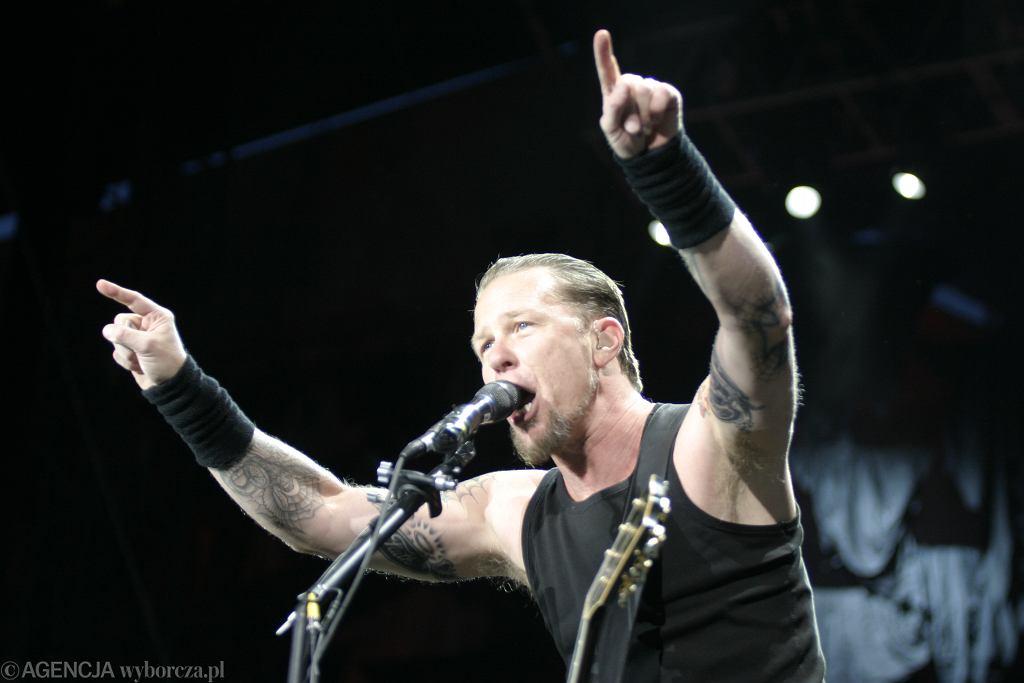Metallica w Polsce - FOTOGRAFIA ILUSTRACYJNA