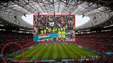 Homofobiczny baner na meczu Euro 2020 w Budapeszcie
