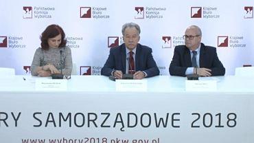 Wybory samorządowe 2018. Konferencja PKW