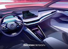 Skoda Enyaq iV odsłania swoje wnętrze. Co już wiemy o elektrycznym SUV-ie?