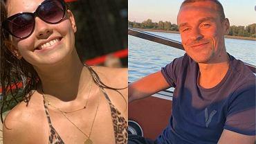 Marcelina Ziętek i Piotr Żyła