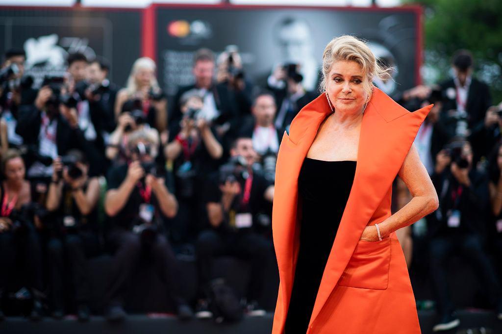 Festiwal Filmowy w Wenecji 2019.  Catherine Deneuve