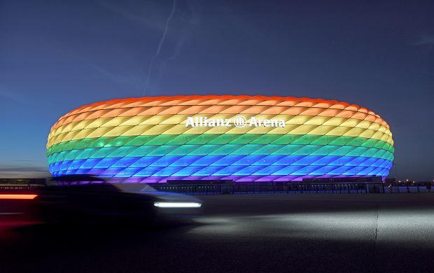 Allianz Arena w Monachium nie zaświeci w kolorach tęczy. UEFA się sprzeciwiła