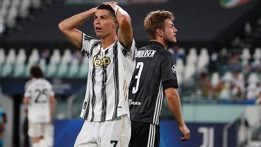 Cristiano Ronaldo załamany, bo Juventus odpadł z Ligi Mistrzów