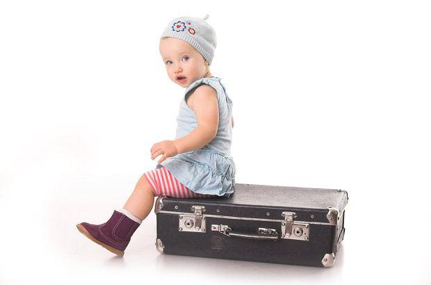 Pierwsza podróż z niemowlakiem