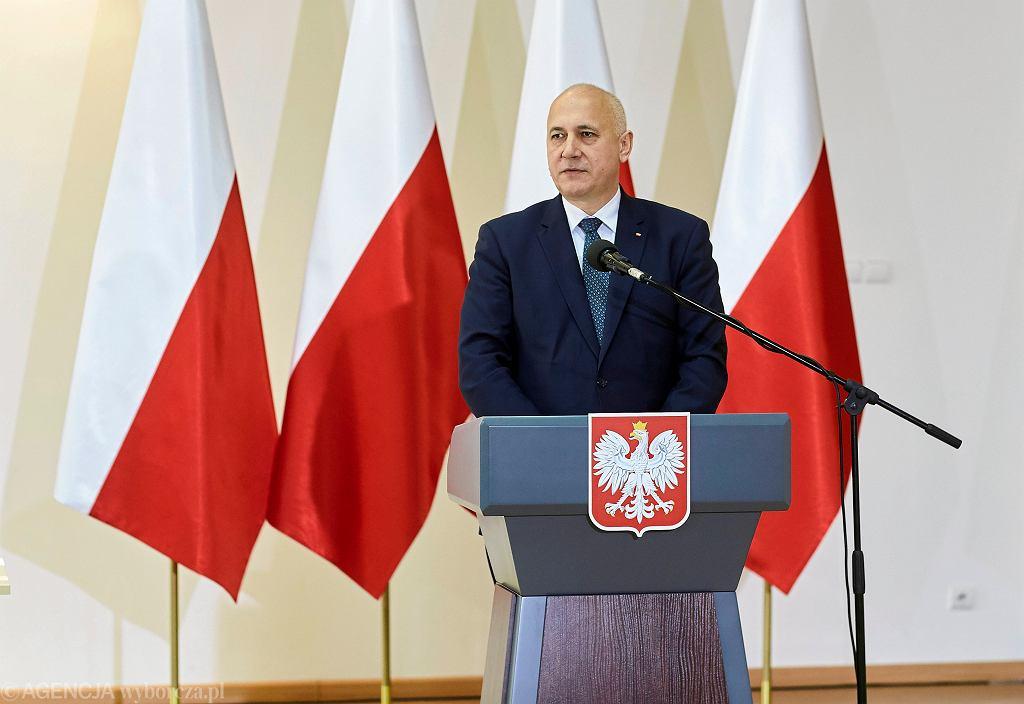 Szef MSWiA Joachim Brudziński zaprosił do rozmowy związki zawodowe służb mundurowych