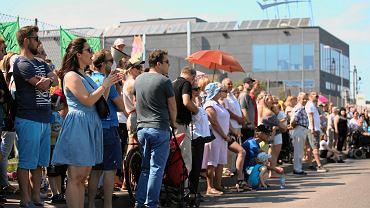Marsz mieszkańców Skawiny przeciwko zasmradzaniu miasta