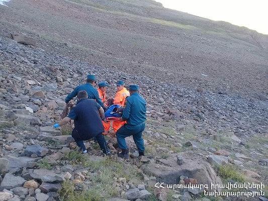 Polacy zaatakowani przez niedźwiedzia w Armenii. Mężczyzna spadł, nie przeżył
