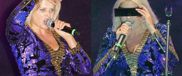 Sadowska wróciła do koncertowania. Jej stylizacja była bardzo wymowna