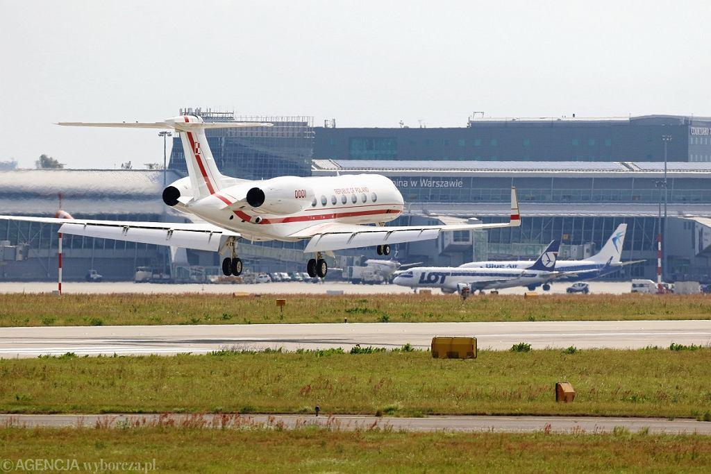 Rządowy Gulfstream G550 do przewozu VIP-ów