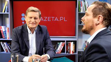 Rozmowa z Leszkiem Balcerowiczem w Gazeta.pl