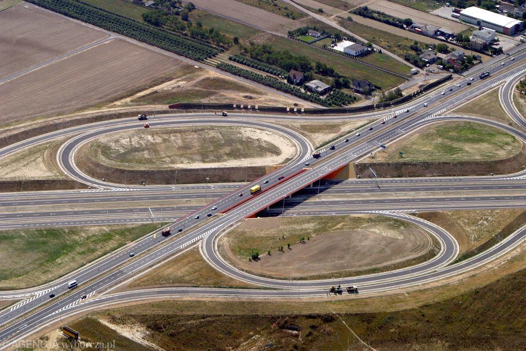 Autostrada A2, obwodnica Poznania. Zdjęcie ilustracyjne