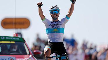 Aleksiej Łucenko triumfuje podczas szóstego etapu Tour de France