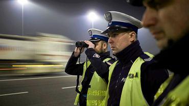 Policyjna kontrola na drogach