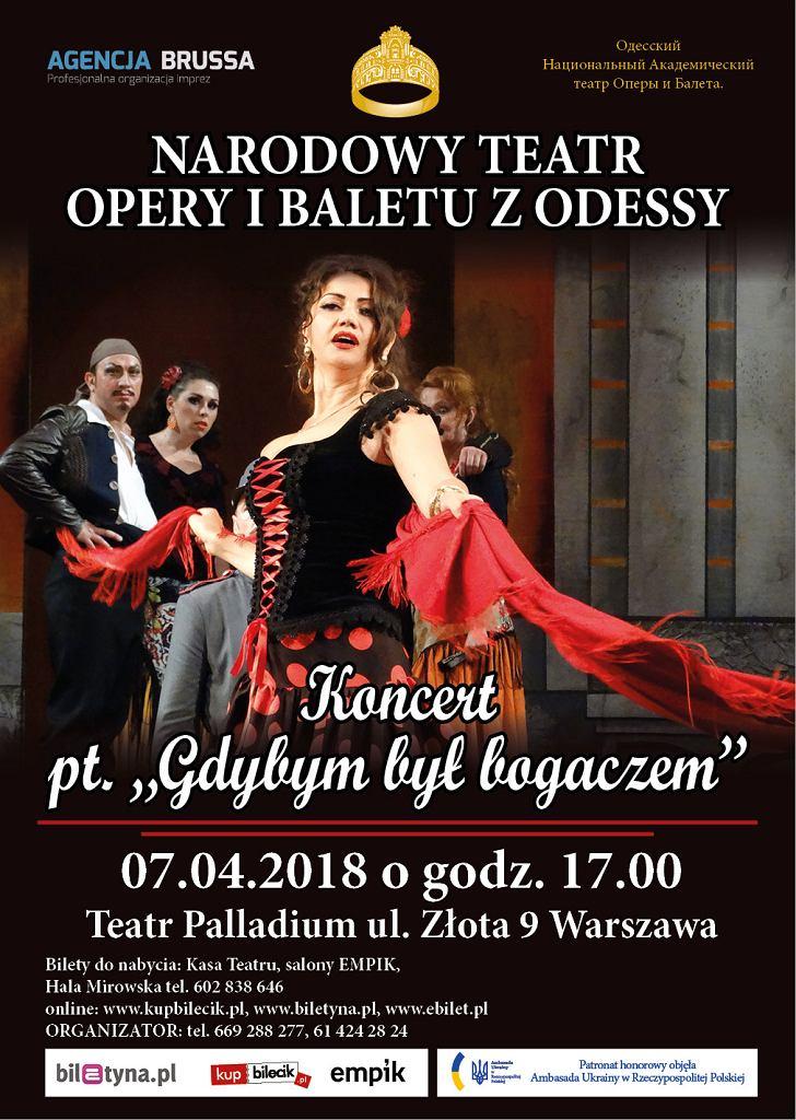 Koncert 'Gdybym Był Bogaczem' w Warszawie