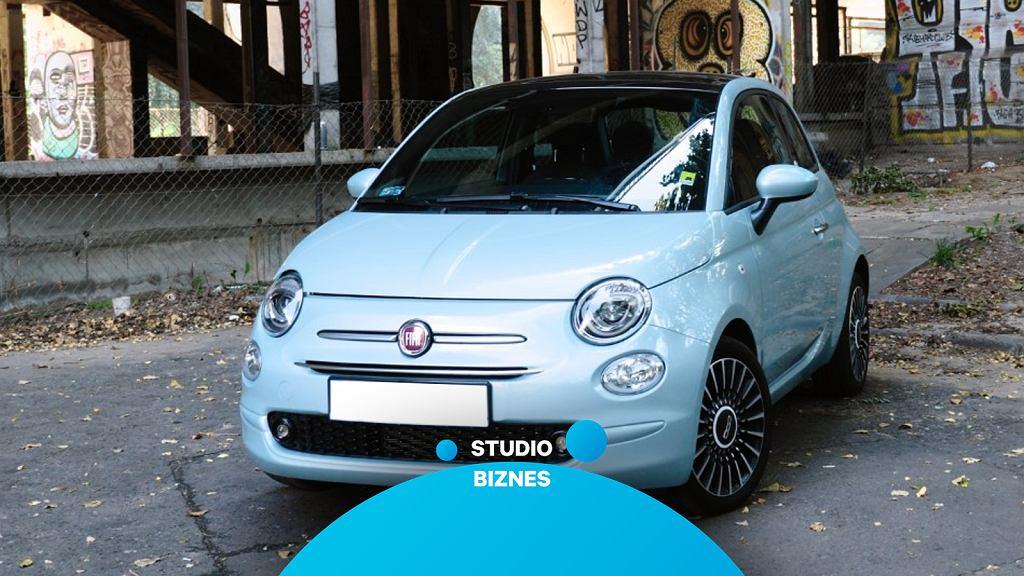 Fiat 500 Hybrid w Studiu Biznes