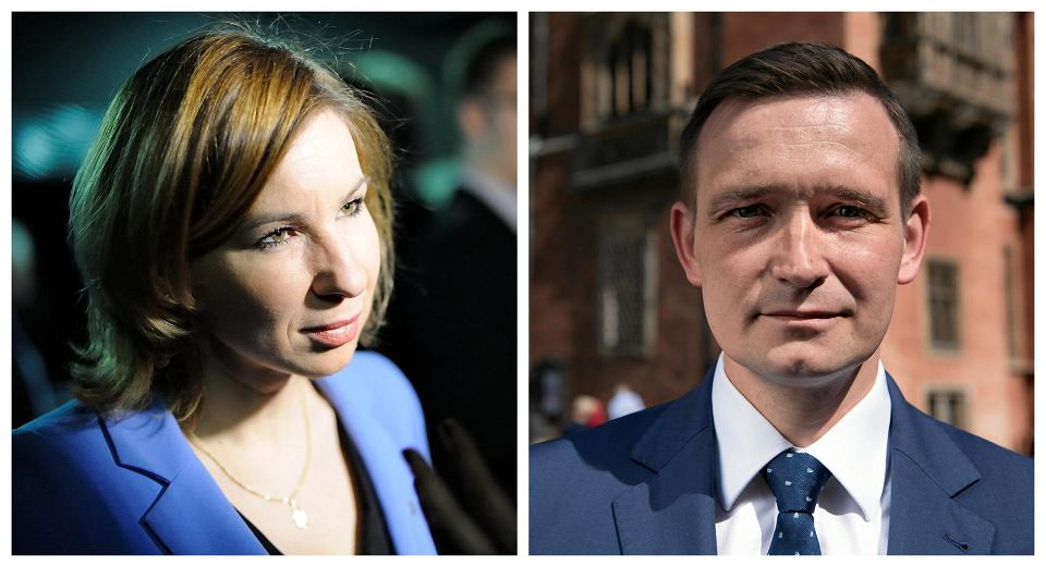 Elżbieta Stępień i Michał Jaros