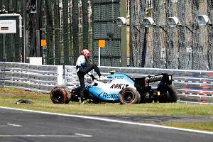 """Kubica opowiada o swoich wypadkach w tym sezonie F1. """"Winę przypisuję sobie tylko w jednym"""""""