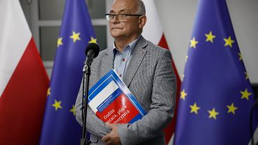 RSpotkanie kandydata na prezydenta RP Rafala Trzaskowskiego ze zwiazkami zawodowymi
