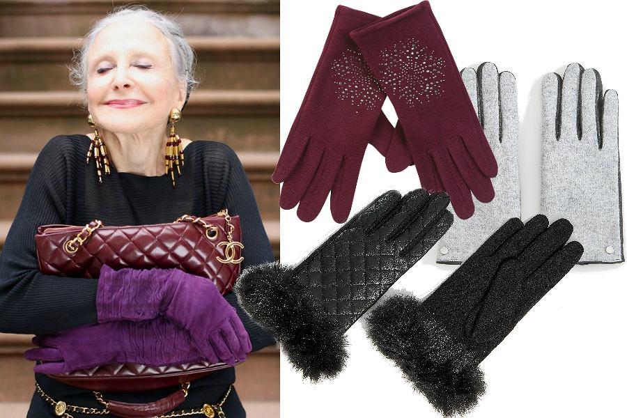 Rękawiczki na zimę dla dojrzałych kobiet