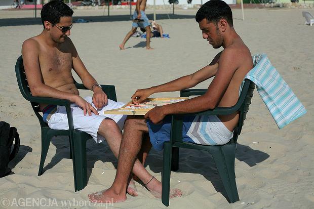 Na plaży w Tel Awiwie