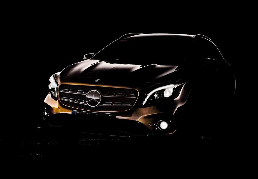 Zapowiedź nowego Mercedesa GLA