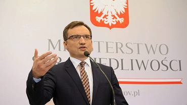Zbigniew Ziobro, minister sprawiedliwości i prokurator generalny