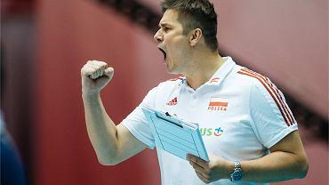 Michał Bąkiewicz, trener kadry U-19 w siatkówce